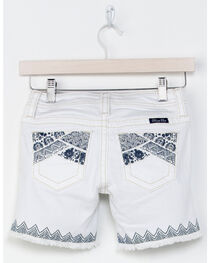Miss Me Girl's Swept Away Bermuda Shorts, , hi-res