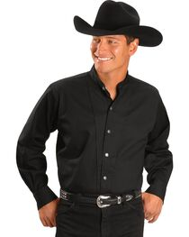 Cumberland Outfitters Men's Tunic Long Sleeeve Western Shirt, , hi-res
