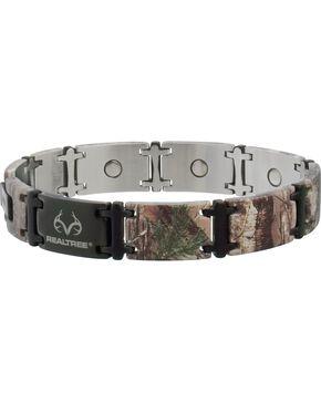 Sabona Realtree Camo Black Magnum Magnetic Bracelet, Multi, hi-res