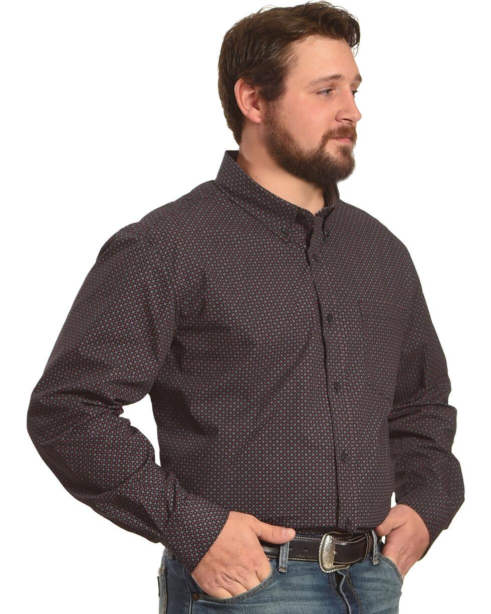 Cody James Men's Rigging Long Sleeve Shirt - Big & Tall, Black, hi-res