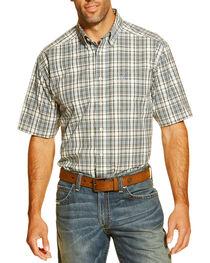 Ariat Men's Garban Short Sleeve Western Shirt, , hi-res