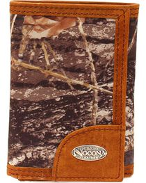 Nocona Men's Tri-Fold Camo Outdoors Wallet, , hi-res