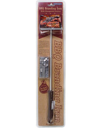 Barbuzzo BBQ Branding Iron with Changeable Letters, No Color, hi-res