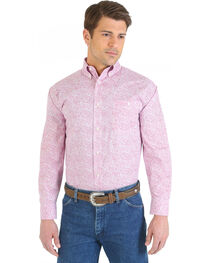 Wrangler Men's Tough Enough Long Sleeve Western Shirt, , hi-res