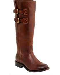 Lucchese Women's Paige Cowhide Riding Boots - Round Toe , , hi-res