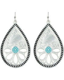 Montana Silversmiths Women's Summer's Meadow Earrings, , hi-res
