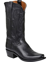 Lucchese Men's Cole Embossed Ranch Hand Western Boots, , hi-res