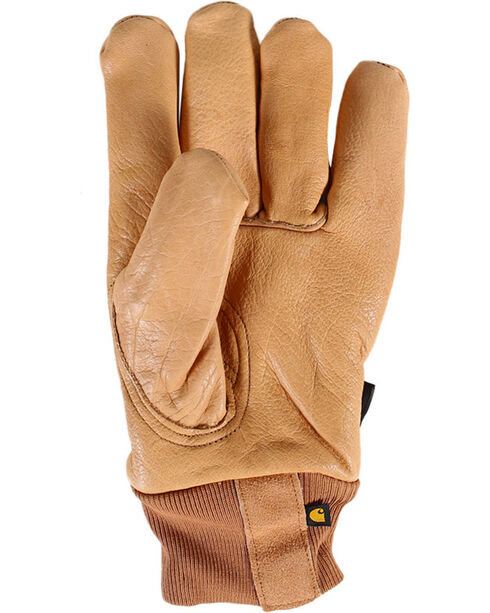 Carhartt Men's Work & Garden Gloves, Brown, hi-res