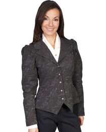 WahMaker by Scully Old West Jacquard Tapestry Jacket, , hi-res