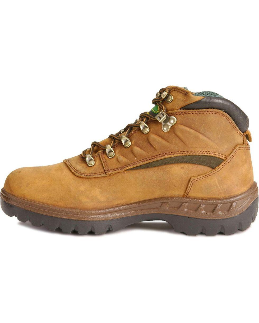 """John Deere® Men's WCT 5"""" Waterproof Hiking Boots, Tan, hi-res"""