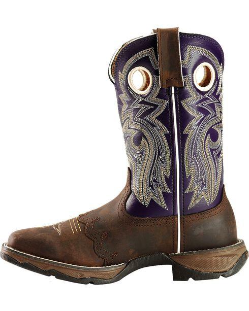 Durango Women's Flirt Blush n' Lace Boots, Distressed, hi-res