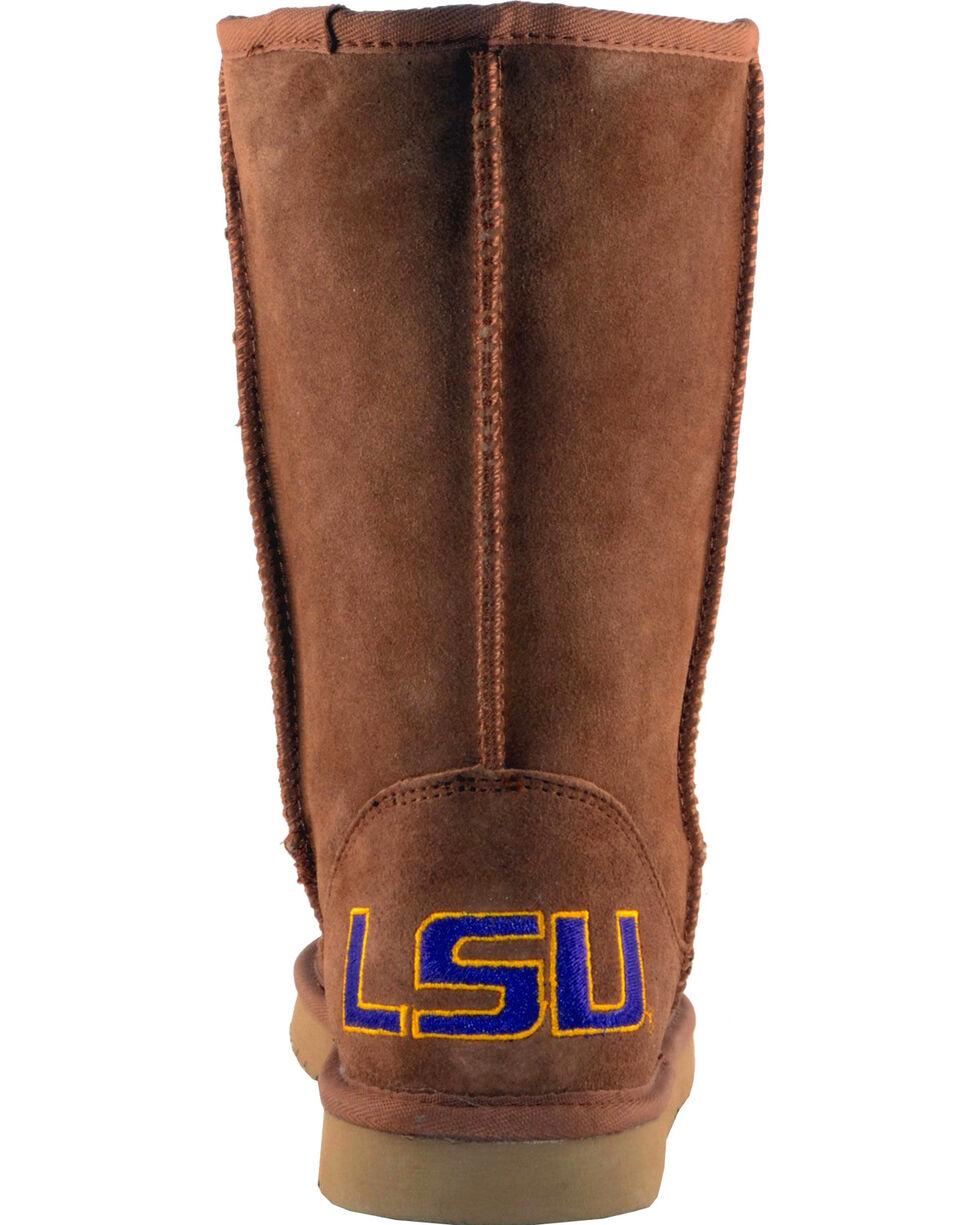 Gameday Boots Women's Louisiana State University Lambskin Boots, Tan, hi-res