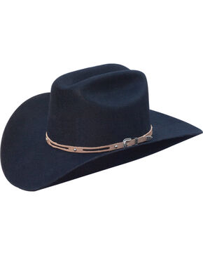 Silverado Men's Holt Western Hat , Black, hi-res