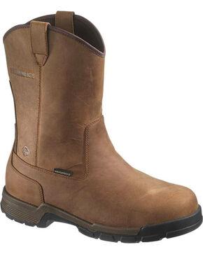 Wolverine Men's Gear WPF Composite Toe Wellington Boots, Brown, hi-res