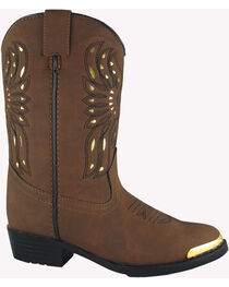 Smoky Mountain Boys' Phoenix Western Boots - Round Toe, , hi-res