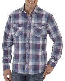Wrangler Retro Men's Plaid Long Sleeve Shirt, , hi-res