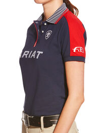 Ariat Women's Performance Team Polo, , hi-res
