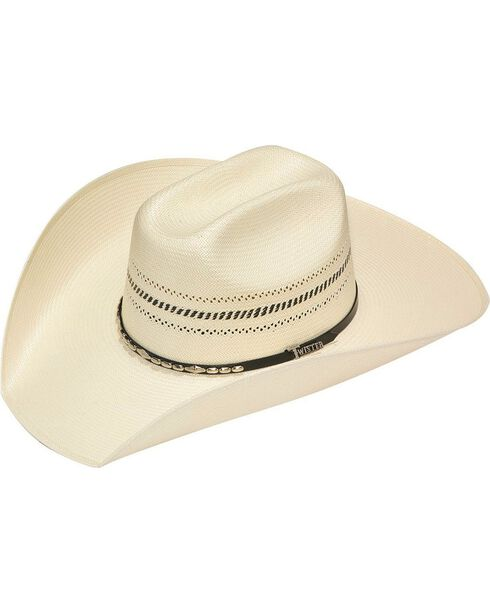 Twister 10X Truman Colton Straw Cowboy Hat, Natural, hi-res