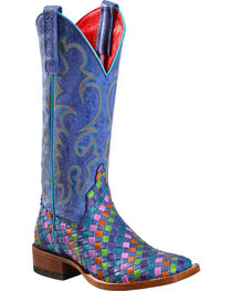 Macie Bean Unbeweavable Cowgirl Boots - Square Toe, , hi-res