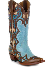 Shyanne® Women's Embroidered Floral Western Boots , , hi-res