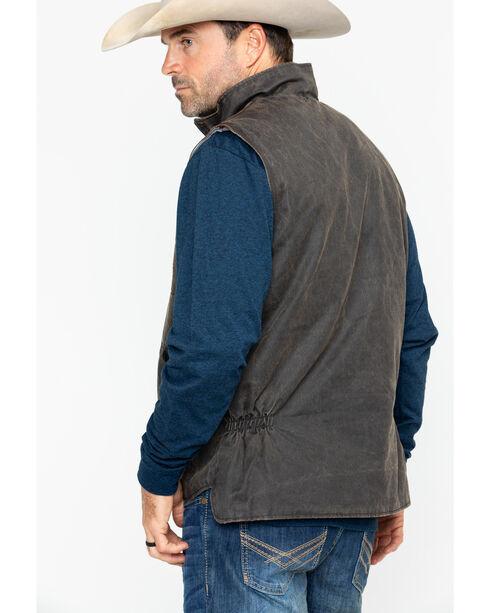 Cody James® Men's Dusty Zippered Vest , Brown, hi-res