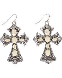 Shyanne® Women's Cross Bone Earrings, , hi-res