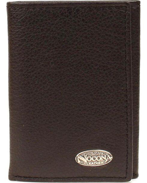 Nocona Classic Logo Concho Tri-fold Wallet, , hi-res