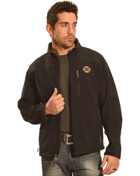 HOoey Men's Black Logo Jacket, , hi-res