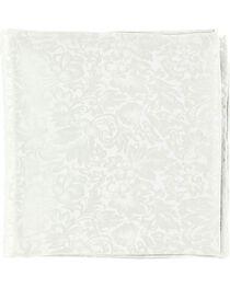 Silver Jacquard Silk Wild Rag, , hi-res
