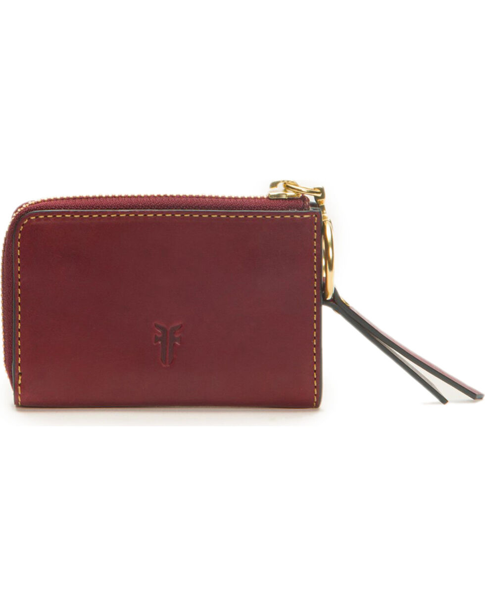 Frye Women's Small Ilana Harness Zip Leather Wallet , , hi-res