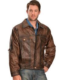 Kobler Leather Men's Rusty Leather Jacket, , hi-res