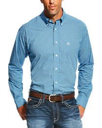 Ariat Men's Pattern Long Sleeve Shirt, , hi-res