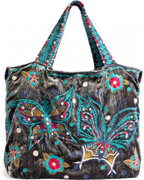 Johnny Was Women's Aurelia Velvet Tote Bag , , hi-res