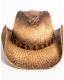 Shyanne® Women's Rustic Tan Straw Hat, , hi-res