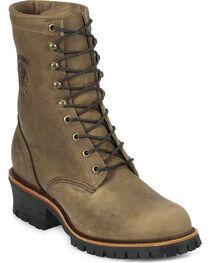 Chippewa Men's Rodeo Steel Toe Logger Boots, , hi-res
