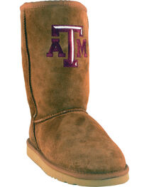 Gameday Boots Women's Texas A&M University Lambskin Boots, , hi-res