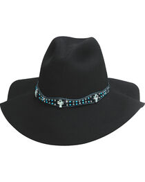 Bullhide Hats Women's Free People Wool Cowboy Hat , , hi-res