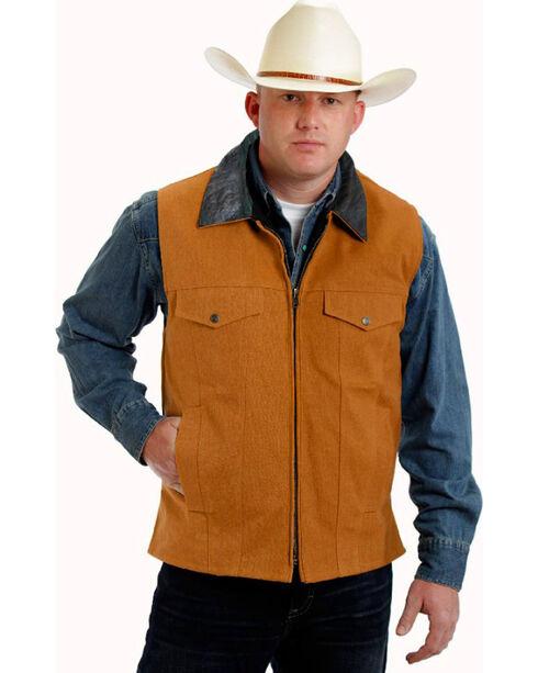 Colorado Saddlery Tan Conceal Carry Vest, Tan, hi-res