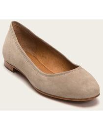 Frye Women's Ash Gloria Ballet Shoes - Round Toe , , hi-res