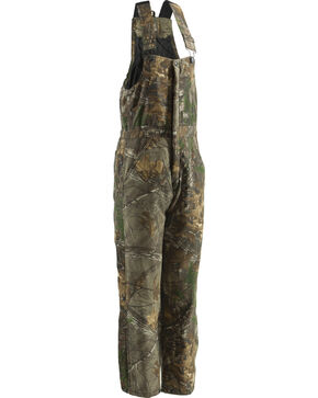 Berne Realtree Camo Coldfront Bib Overall - Short 3XL and 4XL, Camouflage, hi-res