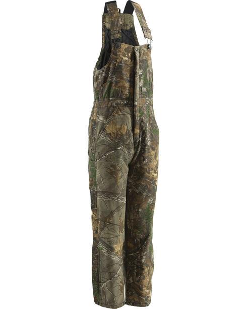 Berne Realtree Camo Coldfront Bib Overalls - 3XT and 4XT, Camouflage, hi-res