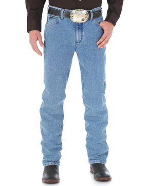 Wrangler Cool Vantage 47 Light Stonewash Jeans - Slim Fit - Big and Tall, Light Stone, hi-res