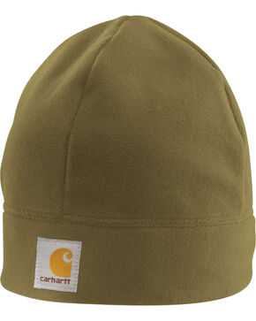 Carhartt Men's Fleece Beanie, Brown, hi-res