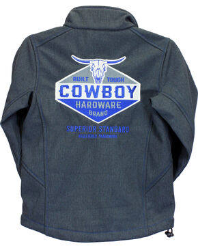Cowboy Hardware Toddler Boys' Charcoal Built Tough Jacket (12MO-4T), Grey, hi-res
