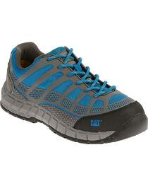 Caterpillar Women's Blue Streamline Work Shoes - Composite Toe , , hi-res