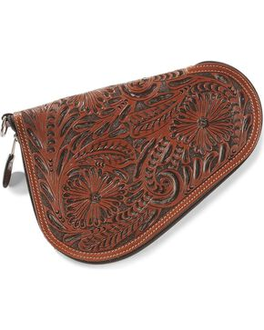 3D Small Leather Pistol Case, Tan, hi-res