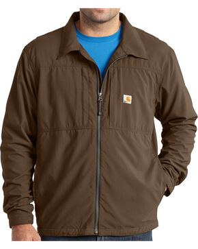 Carhartt Men's Full Swing Briscoe Jacket , Dark Brown, hi-res