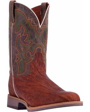 Dan Post Men's Odessa Western Boots, Cognac, hi-res