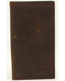 Ariat Basic Distressed Rodeo Wallet, , hi-res