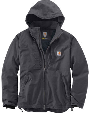 Carhartt Men's Full Swing Cryder Jacket - Big & Tall, Shadow Black, hi-res